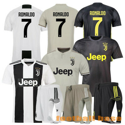 18-19 Soccer Jersey Football Kits Short sleeve shorts For Adults Youth Kids SML