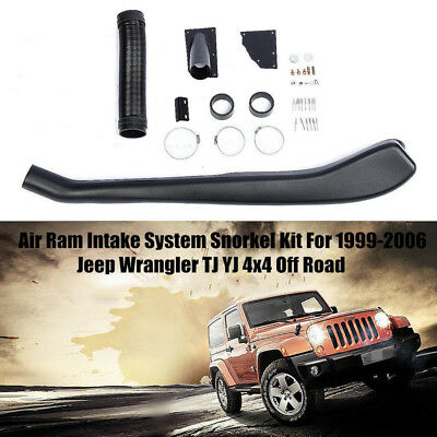 Air Ram Intake System Snorkel Kit For 1999-2006 Jeep Wrangler TJ YJ Off Road 4x4