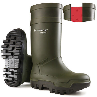 Dunlop Purofort Thermo+ Full Safety Wellington S5 Waterproof Steel Toe C662933