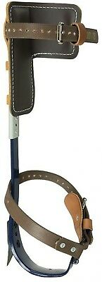 Klein Tools Pole Climbers 1-1/2 in. Cushioned Leather Pads Nylon Straps