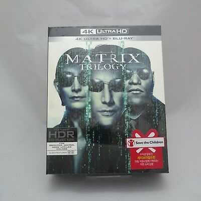 The Matrix Trilogy - 4K UHD & Blu-ray Box Set (2018) / Reloaded, Revolutions
