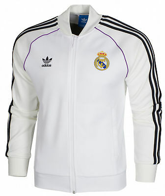 Adidas Originals Fc Real Madrid Superstar Herren Trainingsjacke Tracktop Jacke
