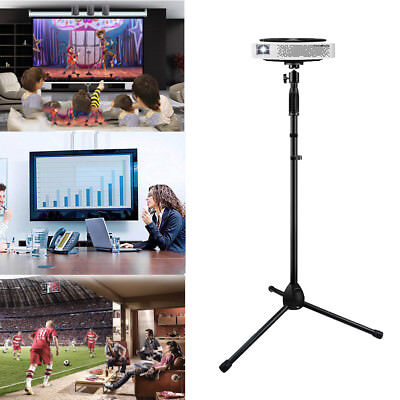 """Projector Stand, Heavy Duty Tripod Height Adjustable 28"""" To 58"""" For Home Office"""