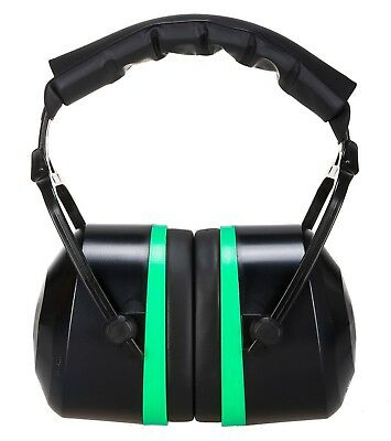 Portwest Top Mark Ear Muff Protector Noise Protection Work Wear 33dB PS44