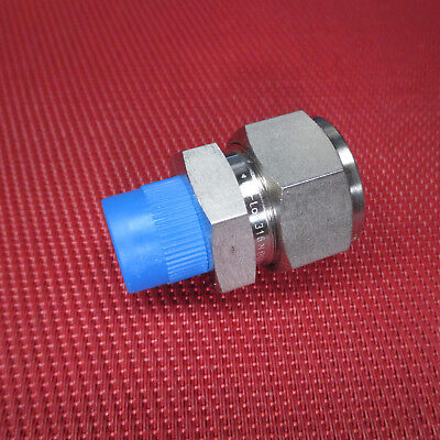 """Dk-Lok® 3/4"""" Tube OD x 3/8"""" NPT Male Pipe STRAIGHT CONNECTOR 316 Stainless Steel"""
