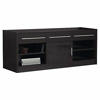 Monarch Specialties Hollow Core Tv Console 60 Inch Cappuccino