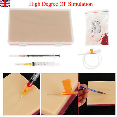 Suturing Practice kit - Medical 3 Layers Suture Pad Human Skin Training Model UK