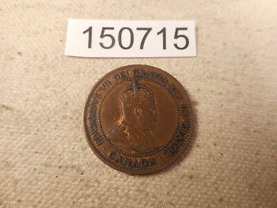 1903 Canada Large Cent Very Nice Raw Collector Grade Album Coin - # 150715