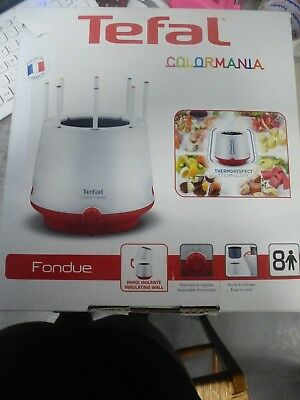 appareil à fondue TEFAL colormania model EF260512 ( occasion )