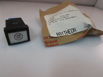 Stacoswitch 40RBS07A LAMP TEST Raytheon P/N 855401-36