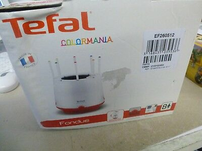 appareil à fondue TEFAL  colormania model EF260512 ( occasion ) (1)