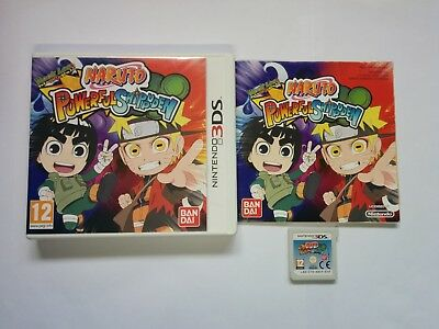 Naruto Powerful Shippuden - Nintendo 3DS Game - 2DS, XL - Free, Fast P&P!