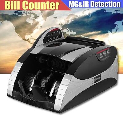 Bank Note Banknote Money Currency Counter Automatic Cash Machine UV&MG Detector