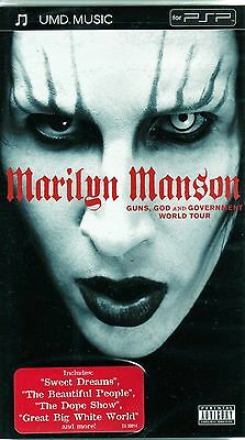 Marilyn Manson - Guns, God and Government (UMD, 2005) For PSP only