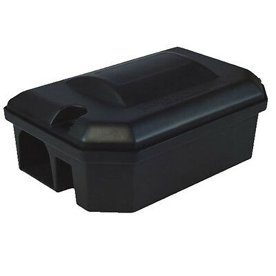 1 X PROFESSIONAL RODENT BAIT STATION BOX TRAP ONLY -NO Block Bait Rat Mouse Mice