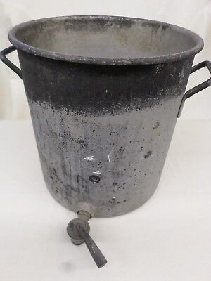Vintage Wear Ever 40 Qt. Heavy Duty Stock Pot With Spigot  #4310  LL 537