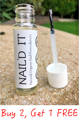 NAIL'D IT - Natural Anti Fungal Nail Infection Treatment Serum Finger Toe Fungus