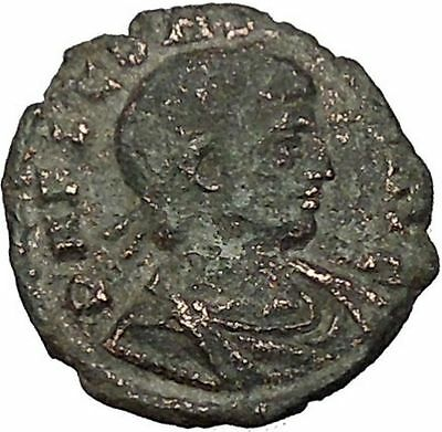 Constans Gay Emperor Constantine the Great son Ancient Roman Coin Legion  i52819
