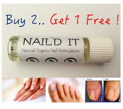 NAIL'D IT - 100% Natural Fungal Infection Treatment - Fingernail & Toe Nail Cure
