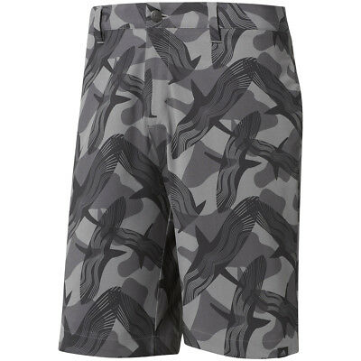 New 2018 Adidas Ultimate 365 Raven Printed Golf Shorts Gray Five Size 32