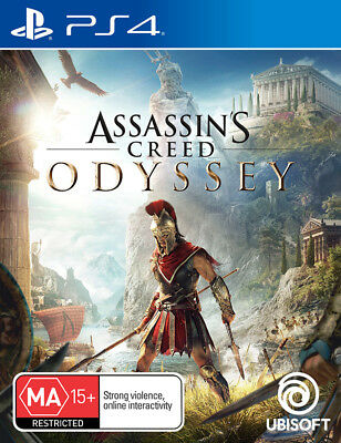 Assassins Creed Odyssey PS4 Game NEW