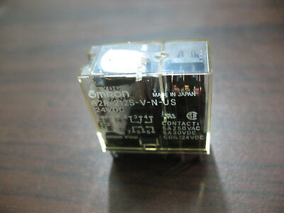 Omron G2R-212S-V-N-US Cube Relay (8 Pin Square, 24 VDC)