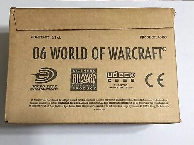 Case Of 6 - World of Warcraft: Heroes of Azeroth Trading Card Game Starter Deck