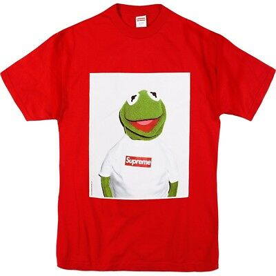 Supreme Kermit the Frog Tee Red Size XL SS2008