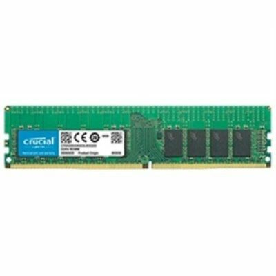 Crucial 16GB CT16G4RFD8266 DDR4 2666 CL19 DR x8 ECC Registered DIMM RETAIL