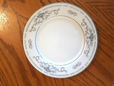 """Bread & Butter Plates  """"Diane"""" by FINE CHINA OF JAPAN"""