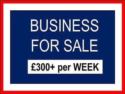 £300+ a week   BUSINESS FOR SALE   Earn money within days of setting up