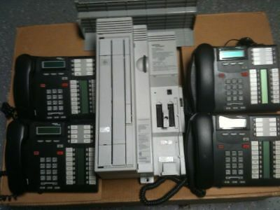 Nortel Norstar CICS 4X16  Rls 7.0 with CID and Phones