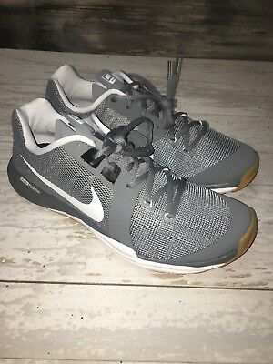 low priced f6511 7db24 Nike Train Prime Iron DF Training Shoes 832219-010 Grey White Men s Size  11.5