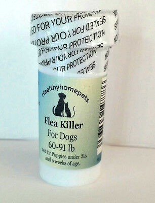 12 Capsules Instant Flea Killer Control Large Dogs 60-91lb super FAST RESULTS!!
