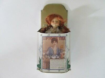 1999 Hal Payne's Button Box Kids Lipton's Tea PEEK A BOO Collectible First Ed