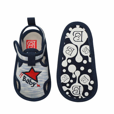 Baby Infant Kid Boy Girl Soft Sole Crib Toddler Summer Sandals Shoes 0-18M b0710