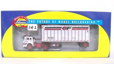 "Athearn RTR HO CF Consolidated Freightways Ford ""C"" & 28' Wedge Trailer 91001"