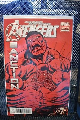 Avengers X-Sanction #3 Ed McGuinness 2nd Print Variant Marvel Comics 2012 Cable