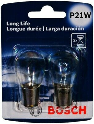 Turn Signal Light Bulb-Longlife - Twin Pack Rear/Front BOSCH P21WLL