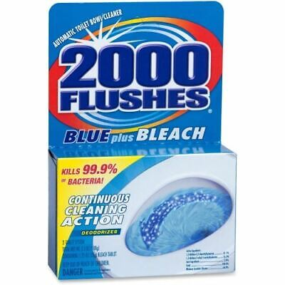 WD-40 2000 Flushes Toilet Bowl with Bleach & Blue Detergent 208017