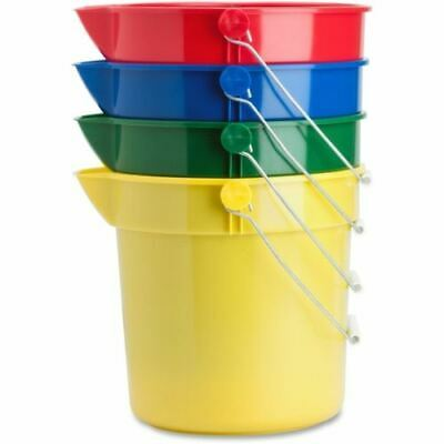 Genuine Joe 4-Pack 10 qt. Utility Buckets 02346
