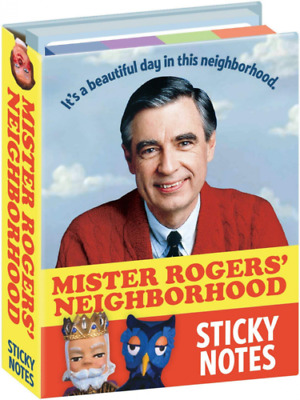 Sticky Notes - Mister Rogers Sticky Notes BRAND NEW SEALED IN SHRINK WRAP!!