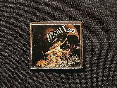 Meat Loaf Vintage Metal Pin Not Poster Button Shirt Cd Dvd Patch Uk Made