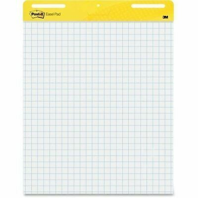 Post-it Self-Stick Easel Pads, 25 in x 30 in, White with Faint Grid 560