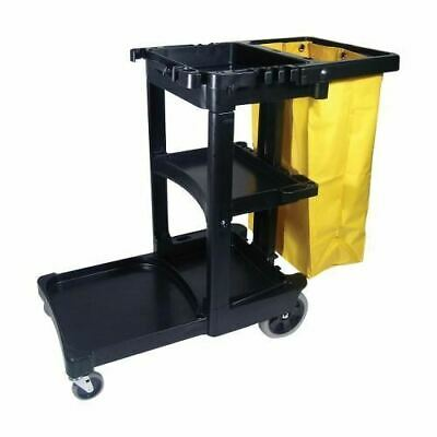 Rubbermaid Janitor Cart FG617300BK