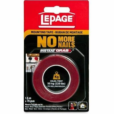 LePage No More Nails Mounting Tape 2125574