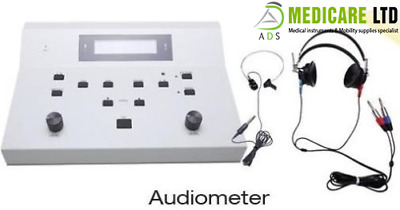 Air & Bone Conduction Digital Audiometer 1 Year Warranty Hearing Instrument