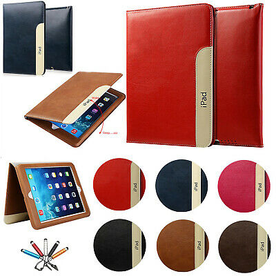 Magnetic Flip PU Leather Wallet Smart Stand Case Cover For iPad 5th/6th/Air/Mini