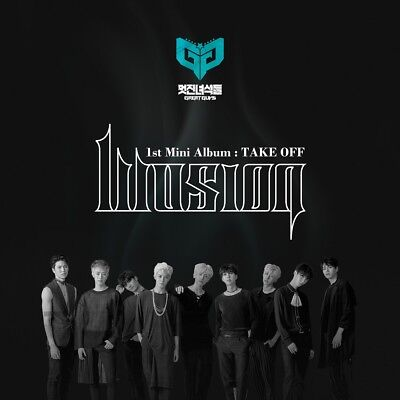 GREAT GUYS - TAKE OFF (1st Mini Album) CD+Booklet+Photocard+Tracking No.