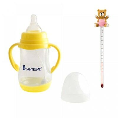 Babyflasche Glasthermometer Babyflaschenthermometer Thermometer Babynahrung Set